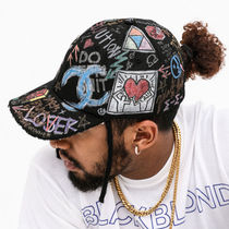 ☆BLACKBLOND☆ キャップ帽子 BBD Tweed Cap Graffiti Ver.