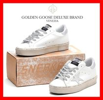 関税負担☆人気☆【GOLDENGOOSE】☆HI STAR SNEAKERS☆SLIVER☆