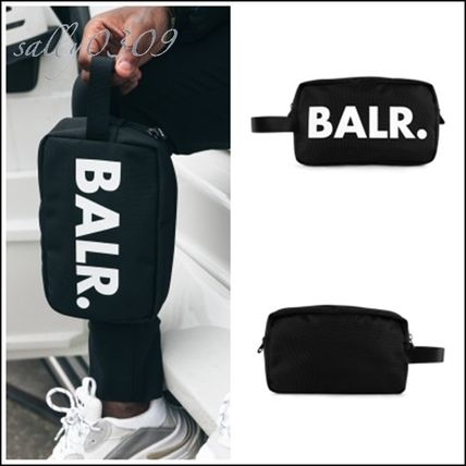BALR クラッチバッグ 【関税・送料無料】BALR★ロゴ コンパクトバッグ