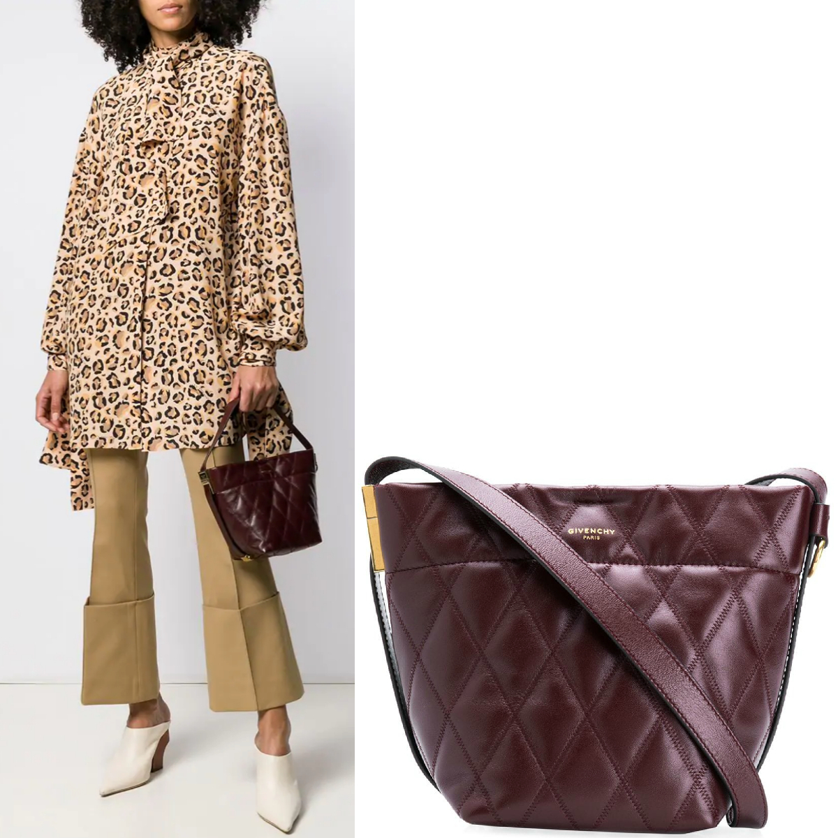 19SS G427 MINI GV BUCKET BAG IN QUILTED LEATHER (GIVENCHY/ショルダーバッグ・ポシェット) 41790771
