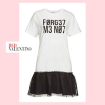 "RED VALENTINO(レッドヴァレンティノ) ワンピース ☆RED VALENTINO☆ ""FORGET ME NOT""・Tシャツドレス♪"