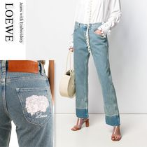 LOEWE Jeans with Embroidery