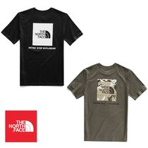 *THE NORTH FACE*大人もOK!! ロゴ Tシャツ Red Box Tee
