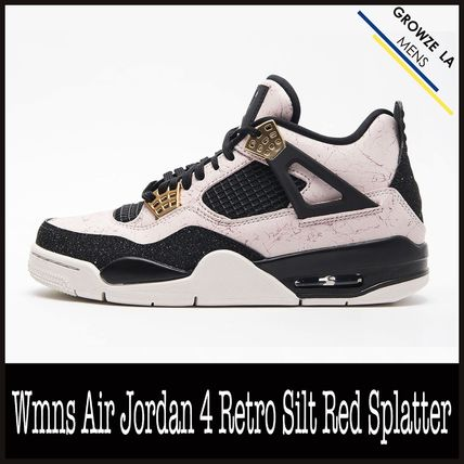 ★【NIKE】ナイキ Wmns Air Jordan 4 Retro Silt Red Splatter