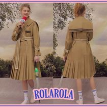 rolarola★PLEATS TRENCH COAT
