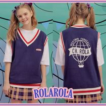 rolarola★V-NECK KNIT VEST