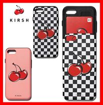 韓国の人気☆ 【KIRSH】☆Big CHERRY BUMPER PHONE CASE☆2色☆