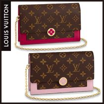 Louis Vuitton | PORTEFEUILLE CHAINE FLORE モノグラム×レザー