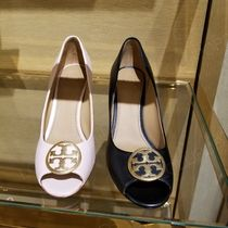 2019 NEW♪ Tory Burch ★ BENTON 85MM PEEP TOE WEDGE