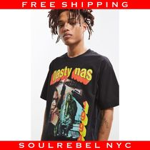 Urban Outfitters(アーバンアウトフィッターズ) Tシャツ・カットソー Nasty Nas Tee / HIPHOP アーティスト T-Shirts ナズ 海外限定
