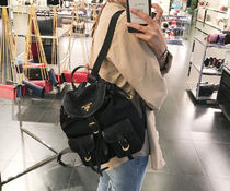 PRADA POCONO TWO POCKET BACKPACK