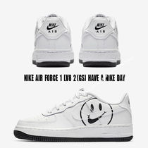 Nike(ナイキ) キッズスニーカー NIKE★AIR FORCE 1 LV8 2 GS★HAVE A NIKE DAY★ロゴ★22.5~25cm