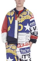 VERSACE◎プリント レインコート A81677A229390A77P