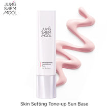 ピンクトーン♪JUNGSAEMMOOL■Skin Setting Tone-up Sun Base