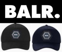 新作 芸能人愛用 BALR Q-SERIES METAL HEXAGON BADGE CAP