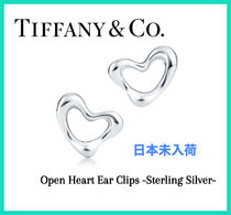 【日本未入荷】Tiffany Open Heart Ear Clips -Sterling Silver-