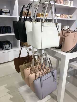 【即発】MICHAEL KORS◆CIARA TOP ZIP TOTE◆トート◆A4収納