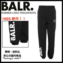 【BALR.】関送込 RUBBER LOGO TRACKPANTS パンツ
