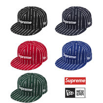 Supreme New Era Text Logo Box Logo Cap 19SS コラボ  送料込み