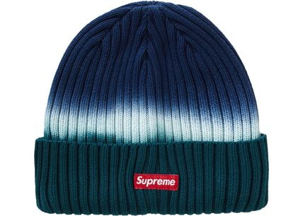 Supreme 帽子その他 送料込19SS SUPREME OVERDYED RIBBED BEANIE CAP BOX LOGO(4)