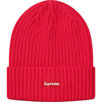 Supreme 帽子その他 送料込19SS SUPREME OVERDYED RIBBED BEANIE CAP BOX LOGO(5)