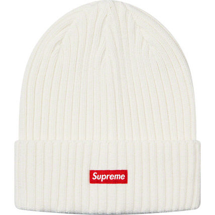 Supreme 帽子その他 送料込19SS SUPREME OVERDYED RIBBED BEANIE CAP BOX LOGO(6)