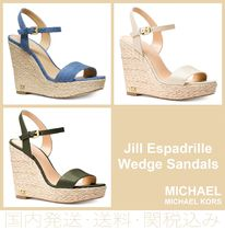 【セール/国内発送】Jill Espadrille Wedge Sandals