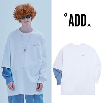 ★ADD SEOUL★日本未入荷 Tシャツ A-DENIM SLEEVED SWEATSHIRT