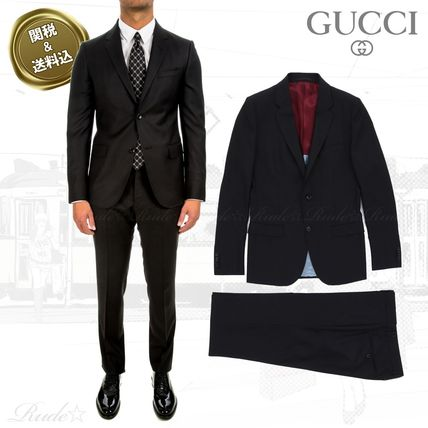 new style c69c5 7d314 【Gucci】☆Black Two-Piece フォーマルスーツ☆