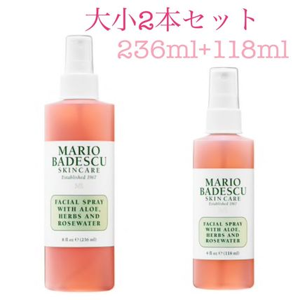 Facial mist + Rosewater 2本セット