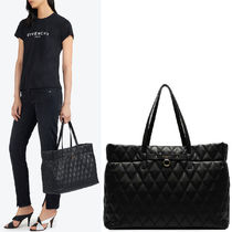 19SS G461 DUO TOTE BAG IN QUILTED CANVAS
