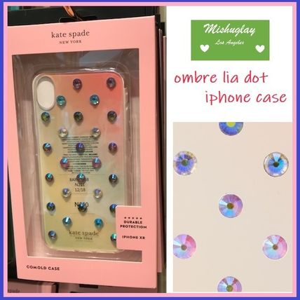 kate spade new york スマホケース・テックアクセサリー 【kate spade】グラデーション♪ombre lia dot X/XS/XS Max/XR★