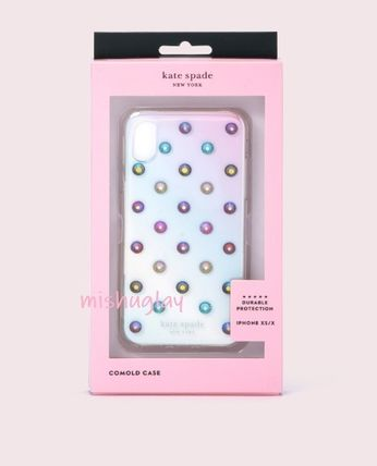 kate spade new york スマホケース・テックアクセサリー 【kate spade】グラデーション♪ombre lia dot X/XS/XS Max/XR★(2)