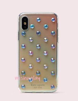kate spade new york スマホケース・テックアクセサリー 【kate spade】グラデーション♪ombre lia dot X/XS/XS Max/XR★(3)