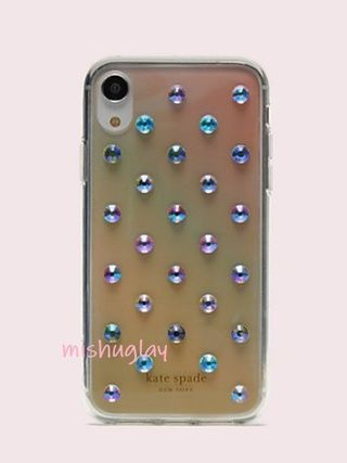 kate spade new york スマホケース・テックアクセサリー 【kate spade】グラデーション♪ombre lia dot X/XS/XS Max/XR★(6)