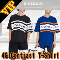 ◆◆VIP◆◆ GIVENCHY GIVENCHY 4G コントラスト  Tシャツ