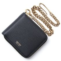 TOM FORD チェーン付き 2つ折り 財布 y0268t-cp9-blk