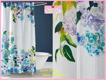 最安*関料込【Anthro】Sarah Hankinson Pansies Shower Curtain