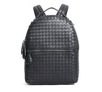 【関税負担】 BOTTEGA VENETA INTRECCIATO LEATHER BACKPACK