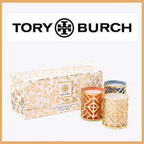 送料込み【VOTIVE CANDLE SET, 3-PIECE】TORY BURCH