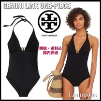 【TORY BURCH】GEMINI LINK ONE-PIECE スイムウェア 水着