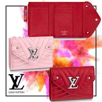 Louis vuitton ルイヴィトン NEW WAVE コンパクト 二つ折り財布