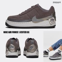 大人気★NIKE★AIR FORCE 1 JESTER XX Grey/metallic