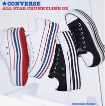 【CONVERSE】CHUCK TAYLOR   ALL STAR CHUNKYLINE OX