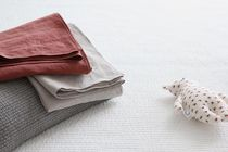 【COCOROBOX】 All Day Half Linen Kids Quilt