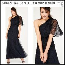【海外限定】AdriannaPapellガウン☆Sequined Blouson One-Shoul
