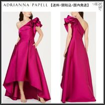 【海外限定】AdriannaPapellガウン☆One-Shoulder High-Low Gown