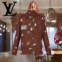 19SS Louis Vuitton(ルイヴィトン)プリントロングスリーブシャツ