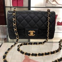 19SS!CHANEL《レアな逸品!》ミニ A69900 BLACK  艶消しGOLD