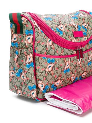 GUCCI マザーズバッグ 【正規品保証】GUCCI★19春夏★GG FAWNS CHANGING BAG(3)